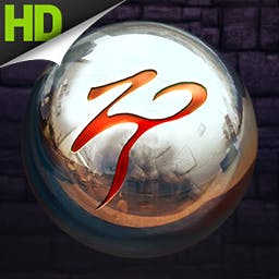 Zen Pinball HD - Play with the world's top virtual pinball maker, Zen Studios. Zen Pinball HD is continually expanding its collection of high quality pinball tables! - logo