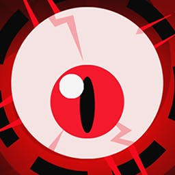 Zero Reflex: Black Eye Edition - Zero Reflex : Black Eye Edition is a psychedelic fast-paced game with a simple aim: you have 30 seconds to avoid deadly projectiles. - logo