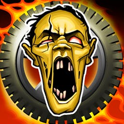 Zombie Derby - The zombie apocalypse is here and to get to the safe zone, you must drive your way through hordes of undead in Zombie Derby! - logo